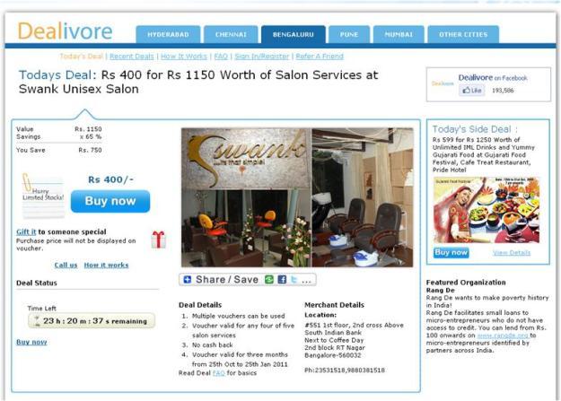 Swank Unisex Salon Bangalore